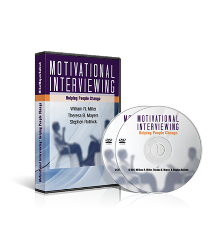Motivational Interviewing: Helping People Change (2-DVD Set)